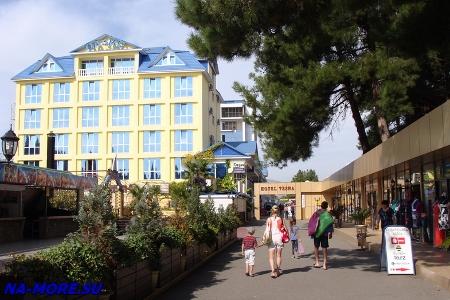 Курортный городок Адлера