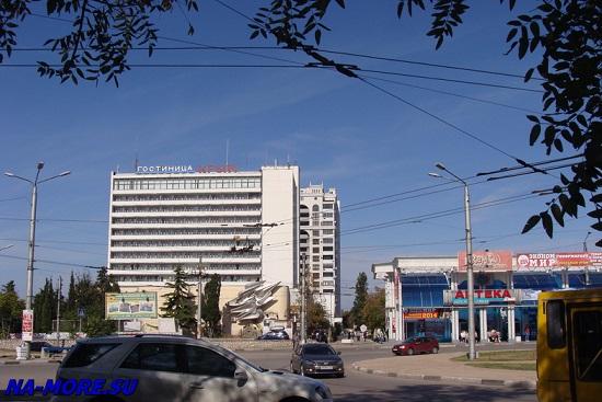 Севастополь. Гостиница Крым.