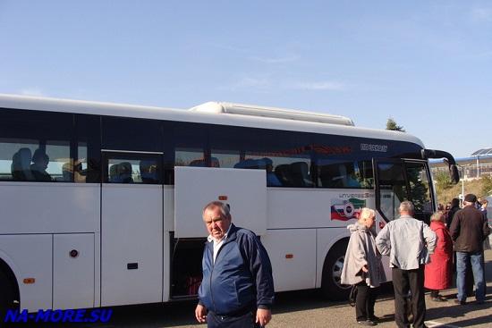 Автобус в Краснодарском крае