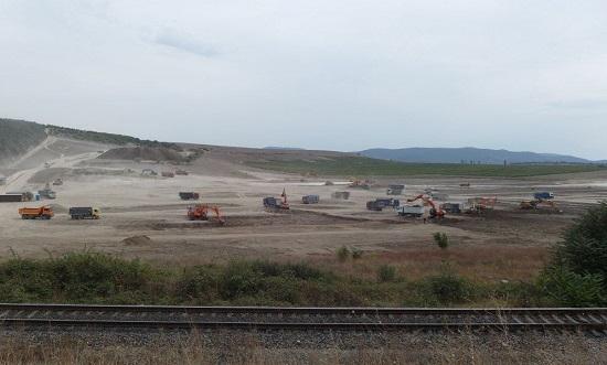 Севастополь. Начало строительства электростанции.