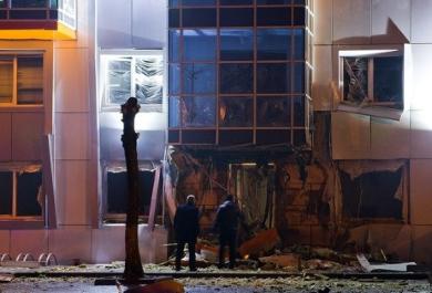 Взрыв офиса партии Самопомощь в Одессе