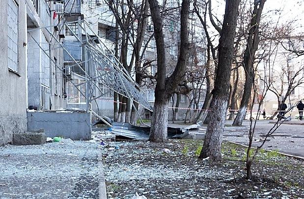 Взрыв в Одессе на Гераневой, 2