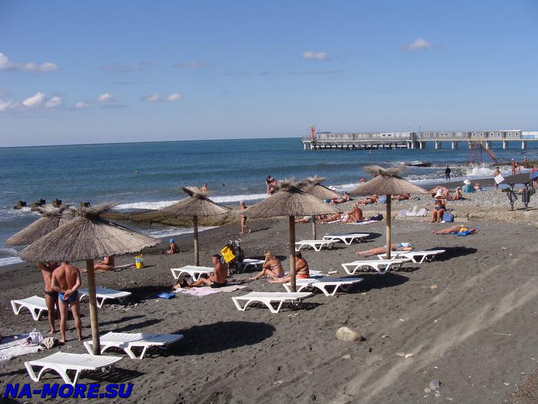Пляж Чёрного моря