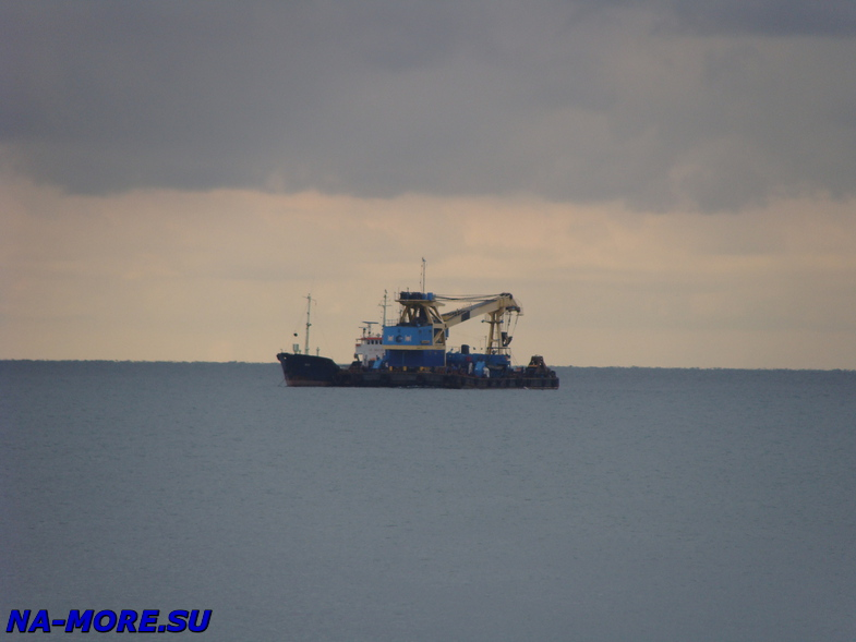 Работы в Чёрном море